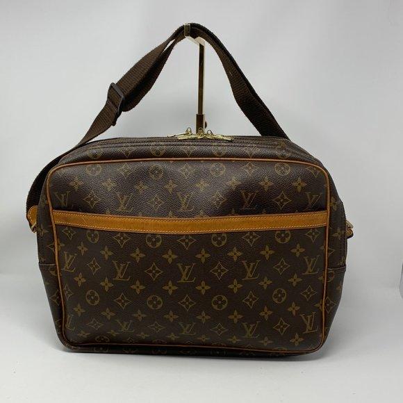 Louis Vuitton Reporter Bag Monogram Canvas GM